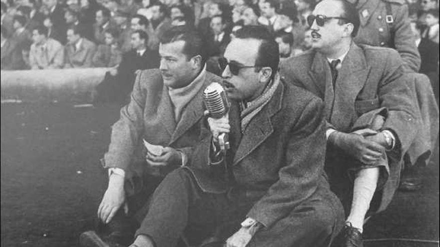 Periodista deportivo Matías Prats