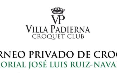II Torneo Privado de Croquet